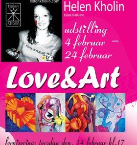 love and art solo exhibition helen kholin
